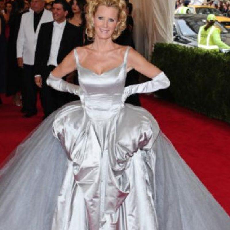 """""""Y el premio para la famosa que hizo su vestido sin ayuda de sus padres es para Sandra Lee"""". Foto:vía Getty Images"""