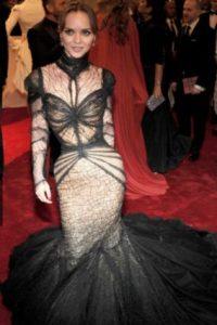 Christina Ricci y la rebelión de las medias veladas. Foto:vía Getty Images