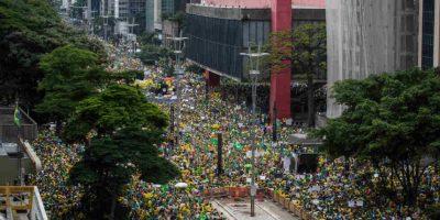 Uno de los motivos fueron las conversaciones entre la presidente Dilma Rousseff y el ex presidente Lula Da Silva. Foto:Getty Images