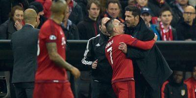 Diego Simeone explotó contra banquillo del Bayern Munich