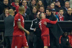 Y hasta tuvo un altercado con la banca del Bayern Munich. Foto:AFP