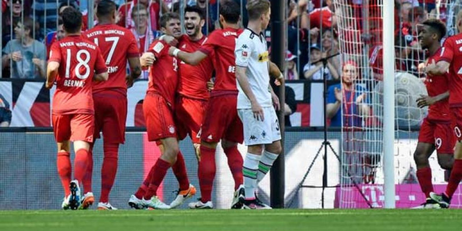 En la Bundesliga son líderes con 82 puntos, cinco más que el Borussia Dortmund. Foto:Getty Images
