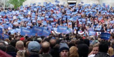 """EE. UU.: """"Bernieland"""", recorrido por un mitin de Sanders en 10 fotografías"""