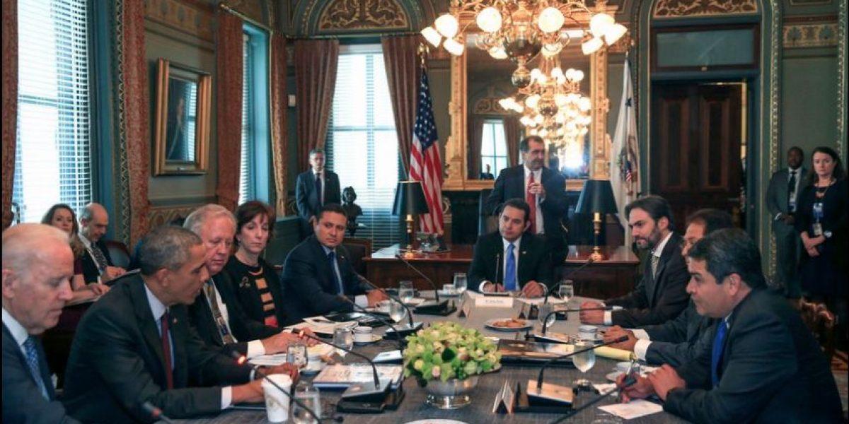 Barack Obama recibe en Washington a Jimmy Morales y a mandatarios de El Salvador y Honduras