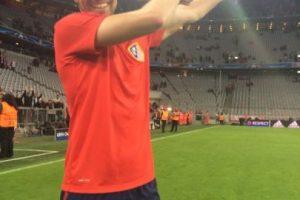 Gabi dedicó el triunfo a los hinchas colchoneros. Foto:Vía twitter.com/Atleti