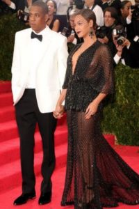 Beyoncé y Jay Z, complementados y correctos. Foto:vía Getty Images
