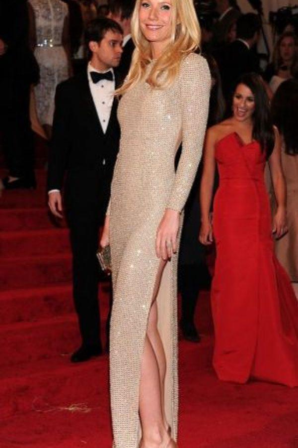 Gwyneth Paltrow, como siempre, minimalista y elegante. Foto:vía Getty Images