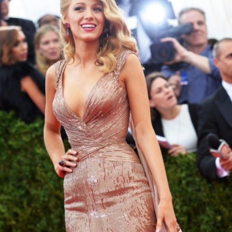 Blake Lively, old Hollywood. Foto: vía Getty Images