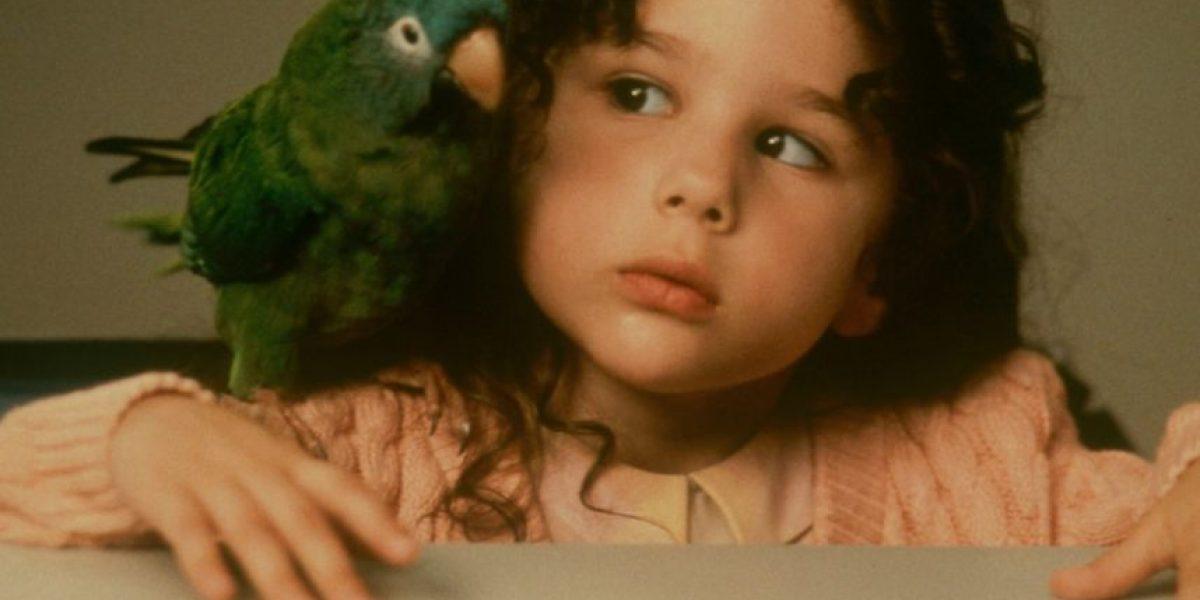 Así está la niña de la película