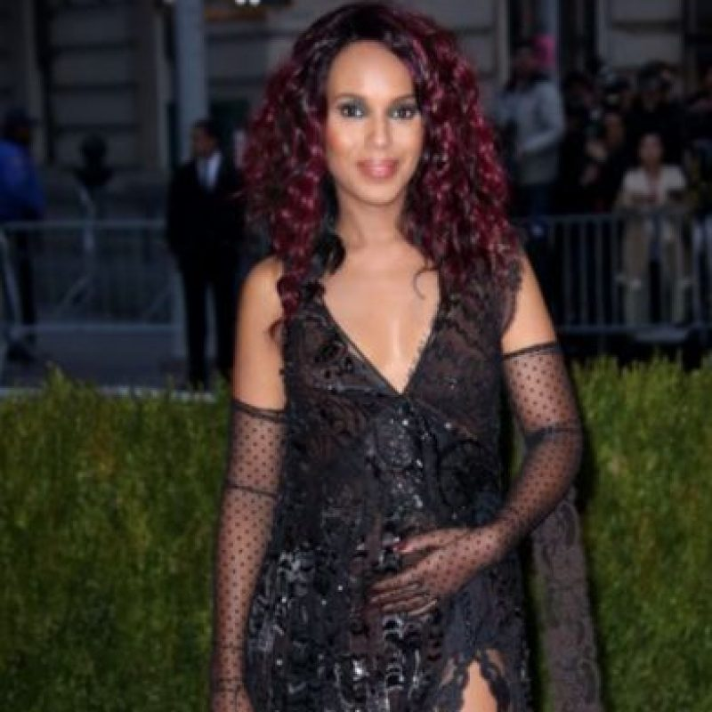 Kerry Washington, gótica. ¿Y el tema? Foto: vía Getty Images