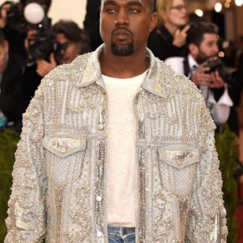Y esta chaqueta brillante. Foto: vía Getty Images
