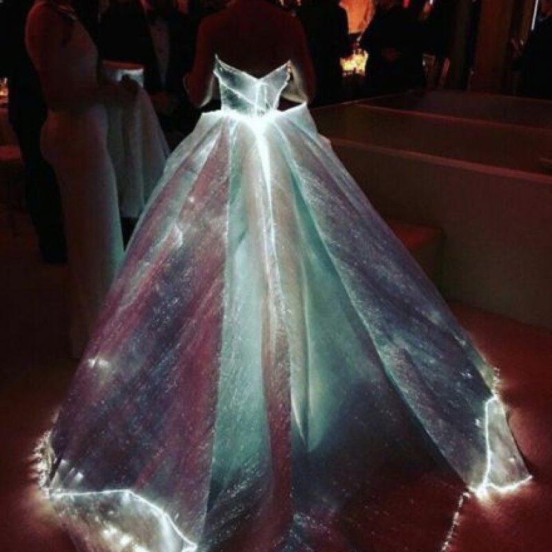 Tecnología LED para brillar en la noche Foto:vía Getty Images