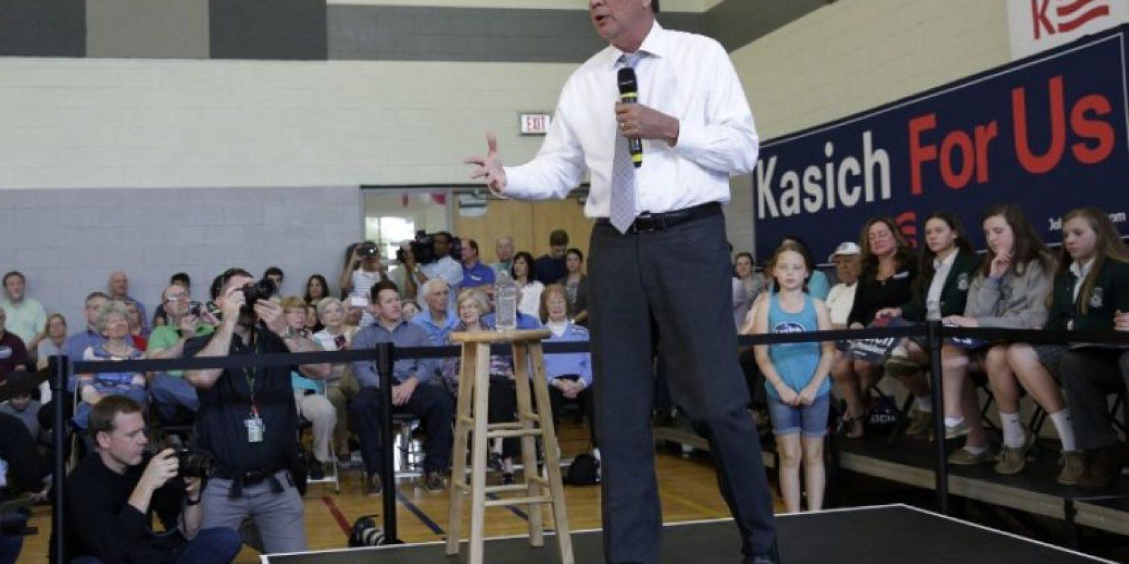 El 21 de julio del 2015 se sumó a la lista de precandidatos republicanos por la presidencia. Foto:AFP