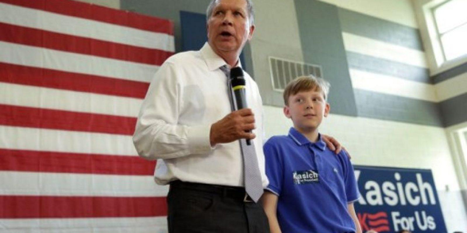 John Richard Kasich es el actual gobernador del estado de Ohio, Estados Unidos. Foto:AFP