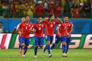 4. Chile / Mundiales= 0 / Copa América= 1 Foto:Getty Images