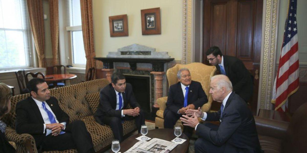 Esta son las recomendaciones de Joe Biden, vicepresidente de Estados Unidos, a Jimmy Morales