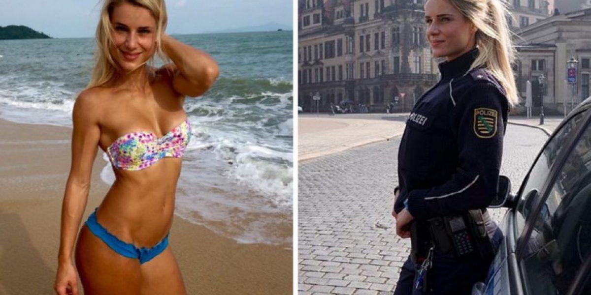 Las mejores fotos de Adrienne Koleszár, la policía más sexy de Alemania, en Instagram