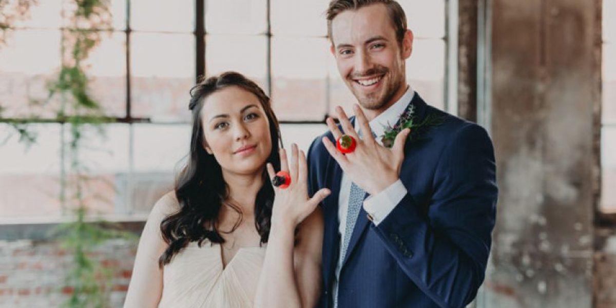 Robaron sus anillos y se casaron con dulces Ring Pop