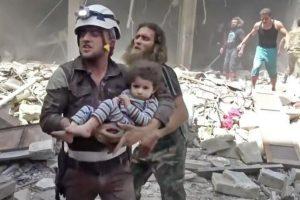 La mayoría de las víctimas eran civiles. Foto:AP