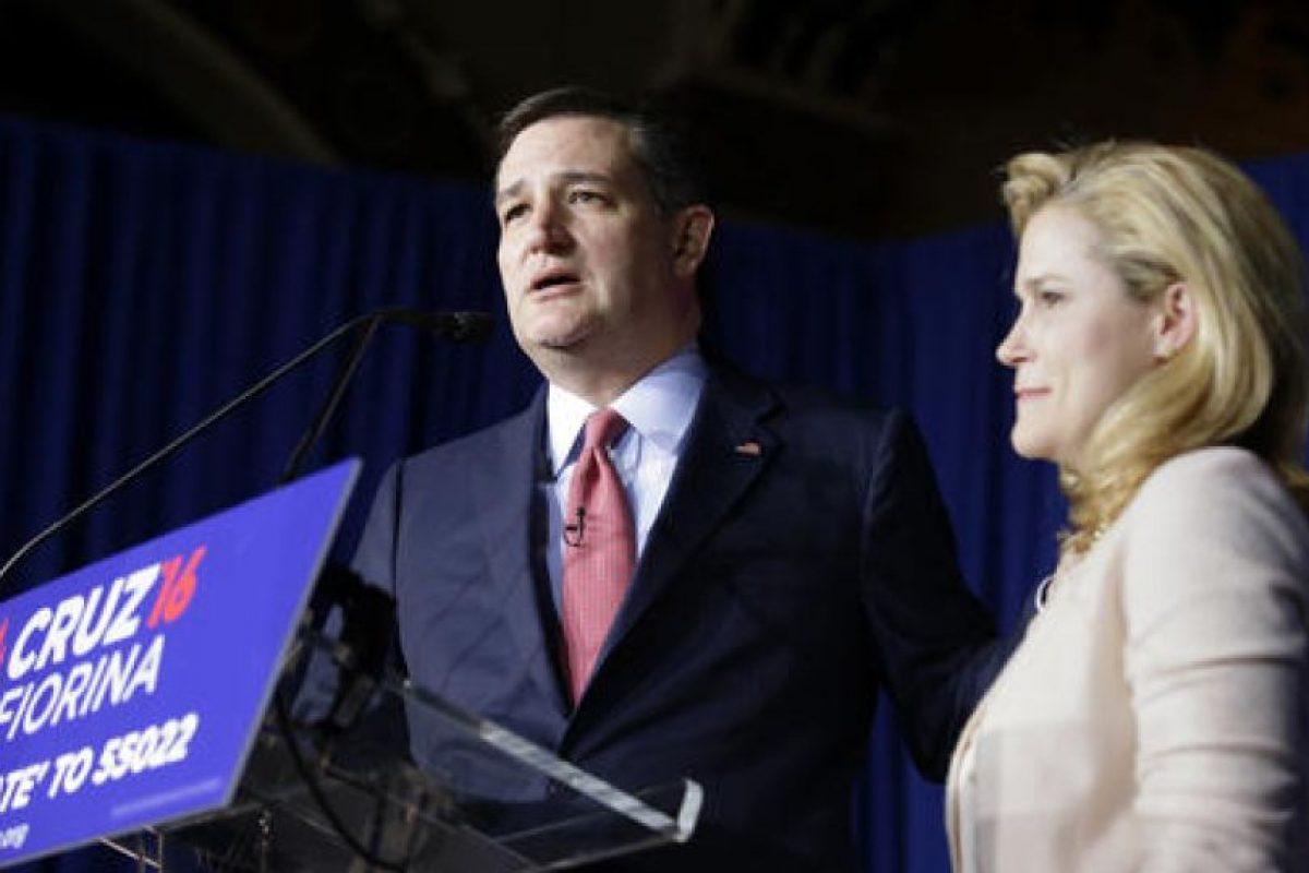 Ante la victoria del magnate, Ted Cruz decidió retirarse de la carrera presidencial. Foto:AP