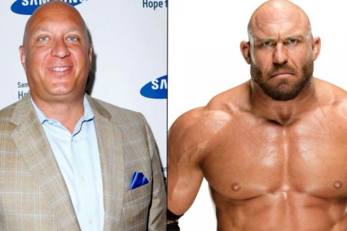 Steve Wilkos y Ryback Foto: Getty Images