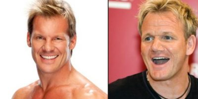Chris Jericho y Gordon Ramsay Foto: Getty Images