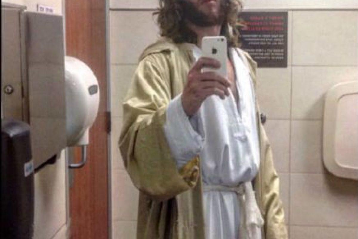 "Michael Grant se hace llamar ""Philly Jesus"". Foto:twitter.com/phillyjesus"