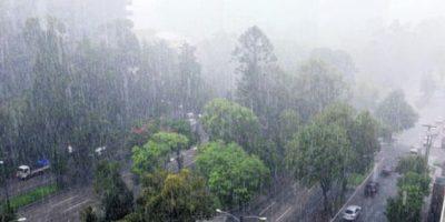 Un frente frío débil ha generado lluvia en el territorio nacional