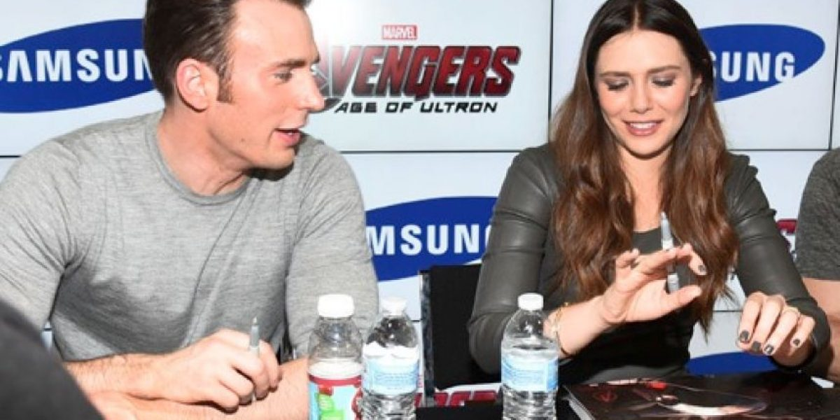 ¿Chris Evans y Elizabeth Olsen confirmaron su relación?