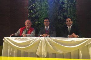 Carlos Mancilla, Fernando Marroquín y Carlos Medina Foto:Publinews