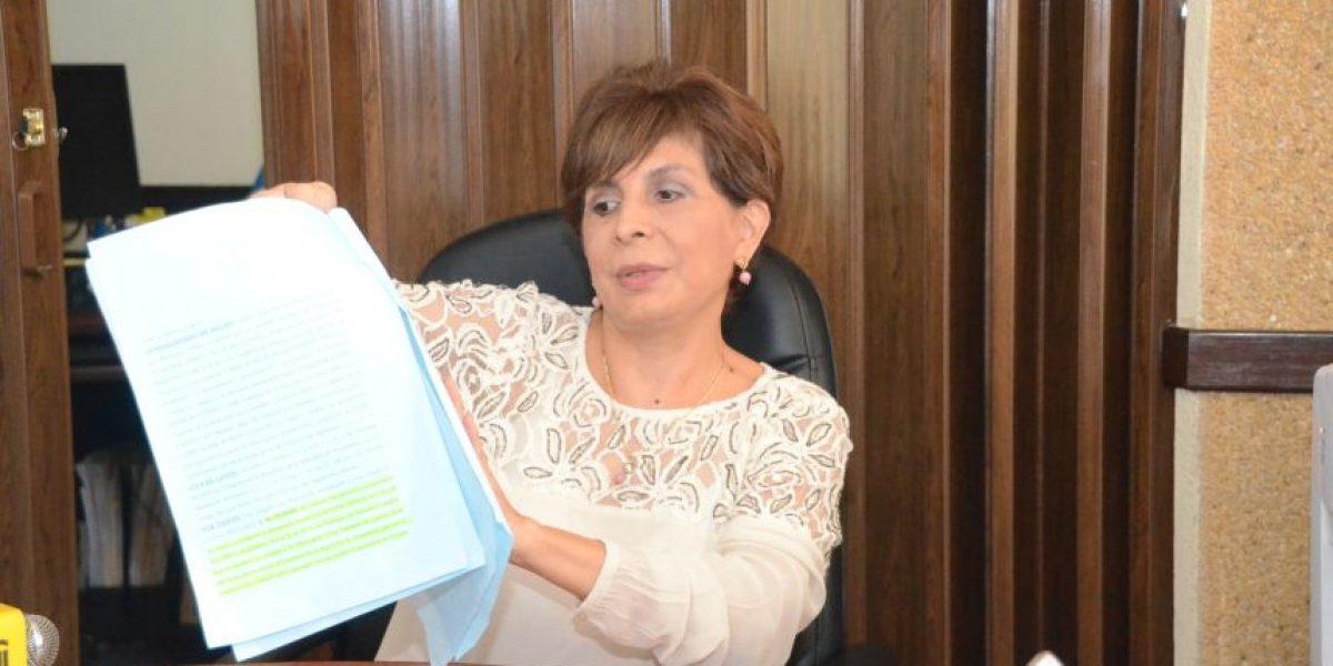 CSJ conocerá solicitud de antejuicio contra Aguilar