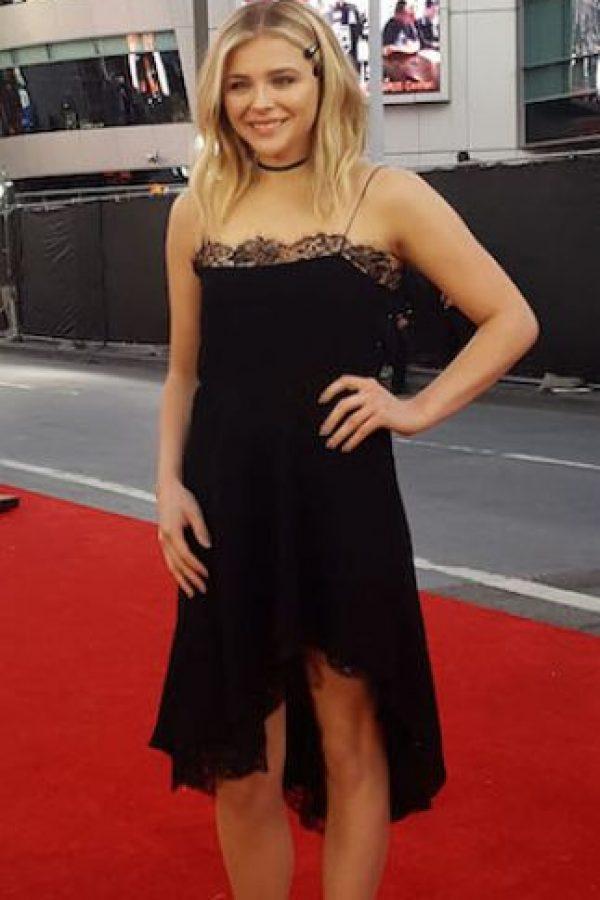 Chloë es una actriz de cine y modelo estadounidense. Foto:Grosby Group