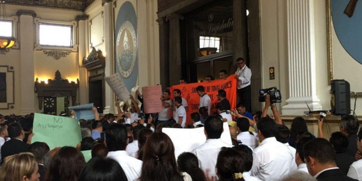 Sintracor rechaza reformas a Ley de Servicio Civil del Legislativo