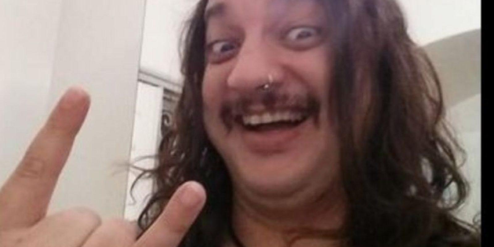 Llegó a trabajar de diseñador gráfico en un programa de televisión. Foto:vía Facebook/El Bananero