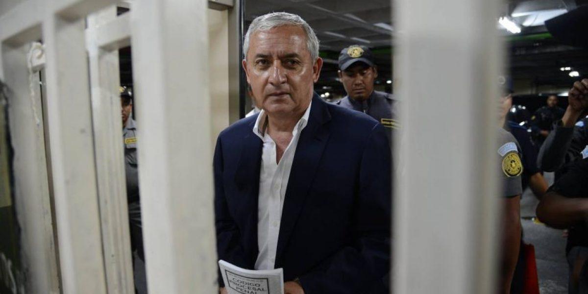 Pérez Molina y Baldetti evadieron este control de seguridad