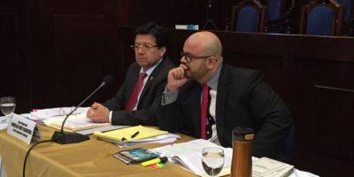 Magistrado Douglas Charchal se presenta ante pesquisidora en el Congreso