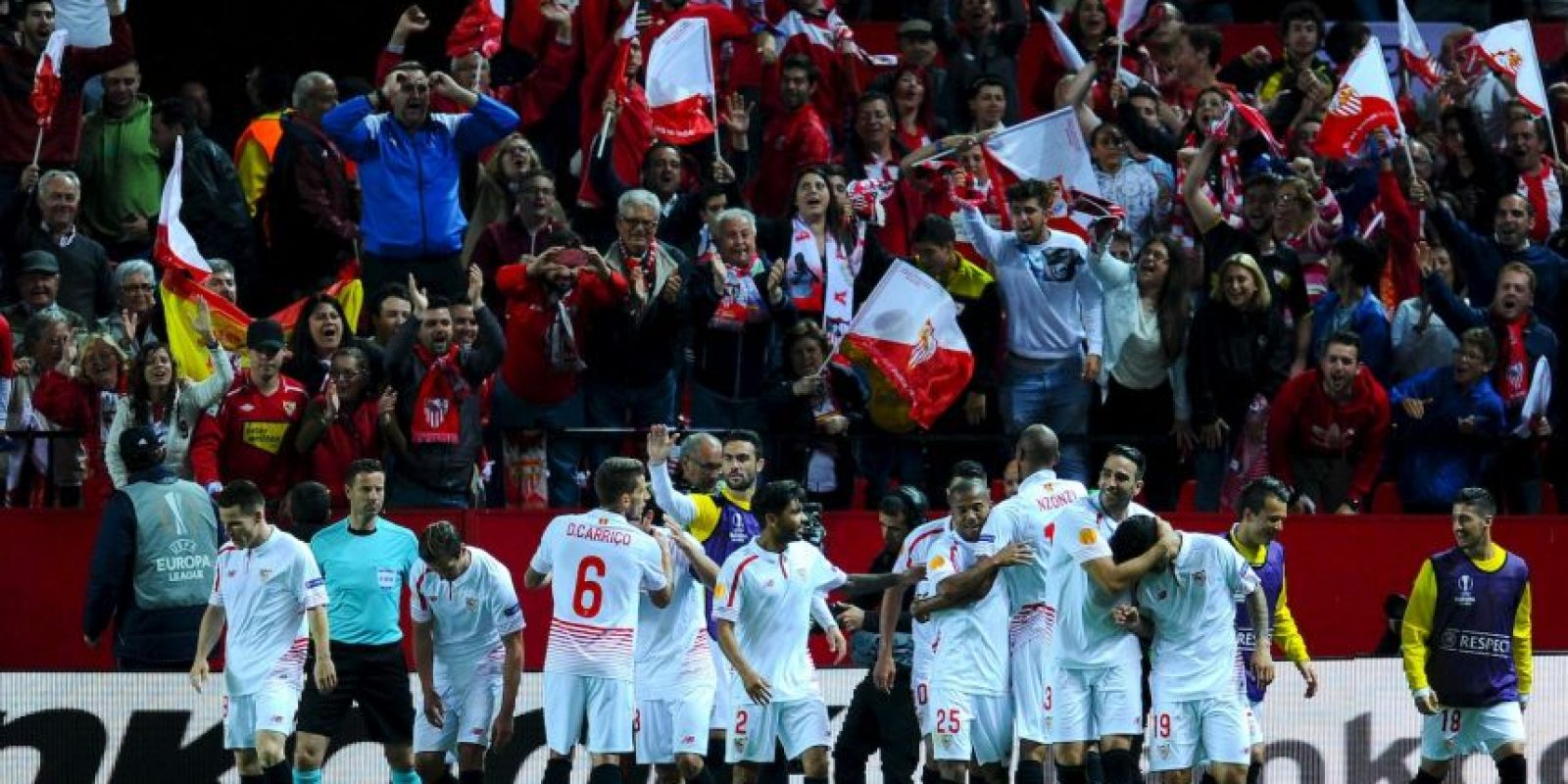 Sevilla de nuevo estára en la final de la Europa League Foto: Getty Images