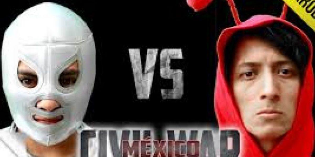 """Esto pasaría si """"Civil War"""" fuera una película mexicana"""