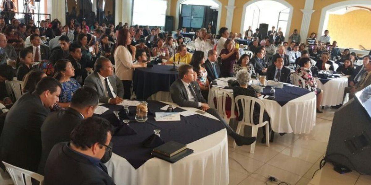 Comienzan reuniones para recibir propuestas de reformas al sector justicia