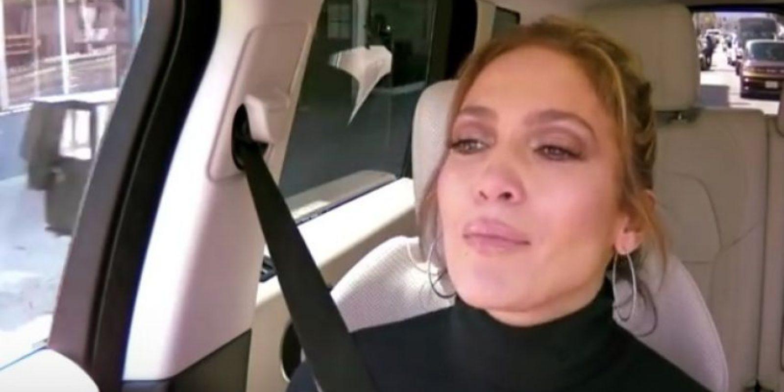 Jennifer López Foto:Vía Youtube/LateLateShow