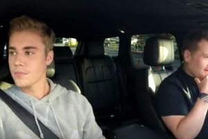 Justin Bieber Foto: Vía Youtube/LateLateShow