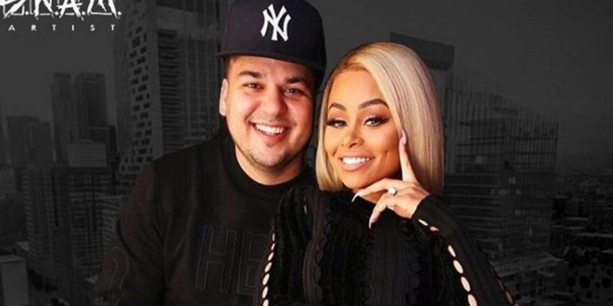 Blac Chyna y Rob Kardashian están esperando su primer hijo