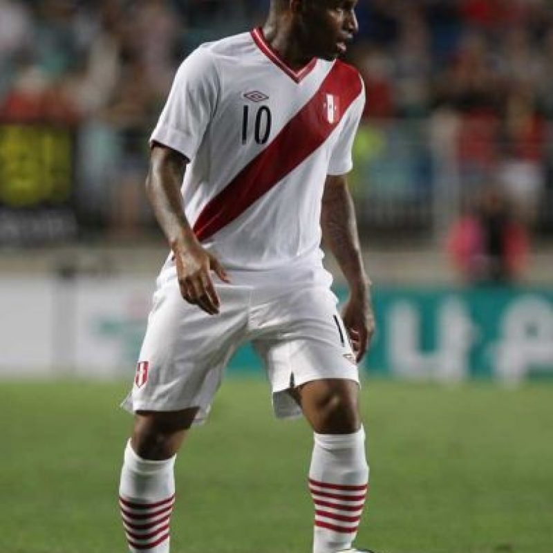 Perú: Jefferson Farfán Foto: Getty Images
