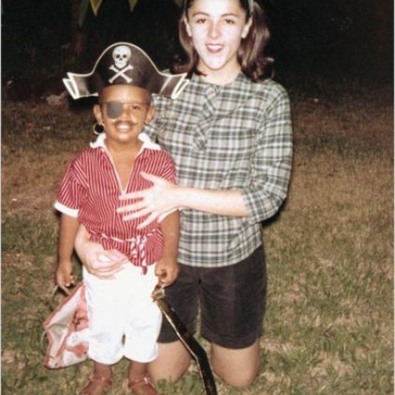 Y su madre, Ann Dunham. Foto:Flickr.com/usembassyjakarta
