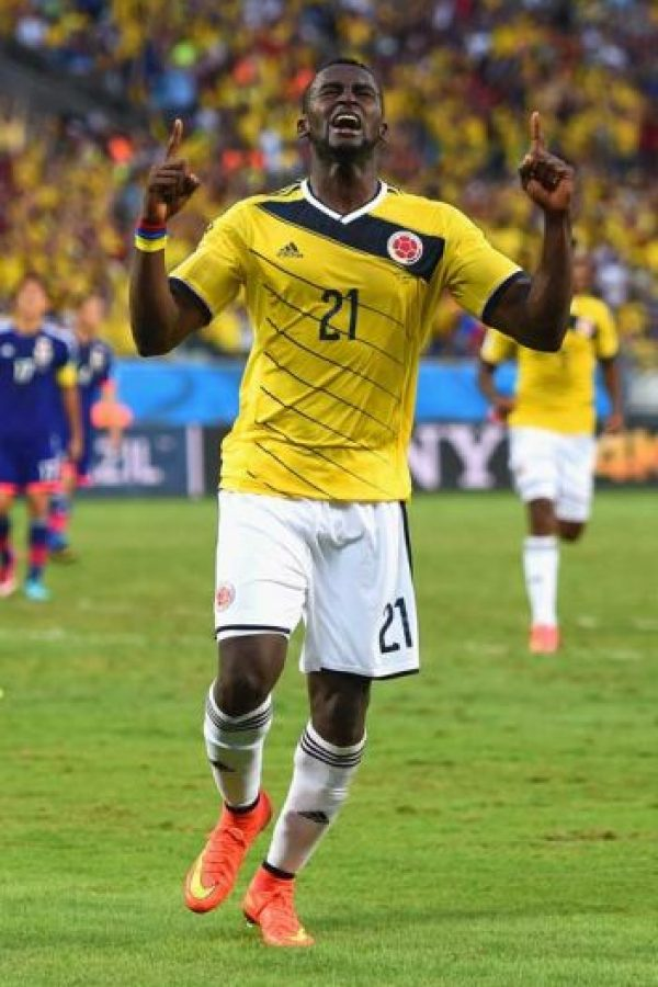 Colombia: Jackson Martínez Foto: Getty Images