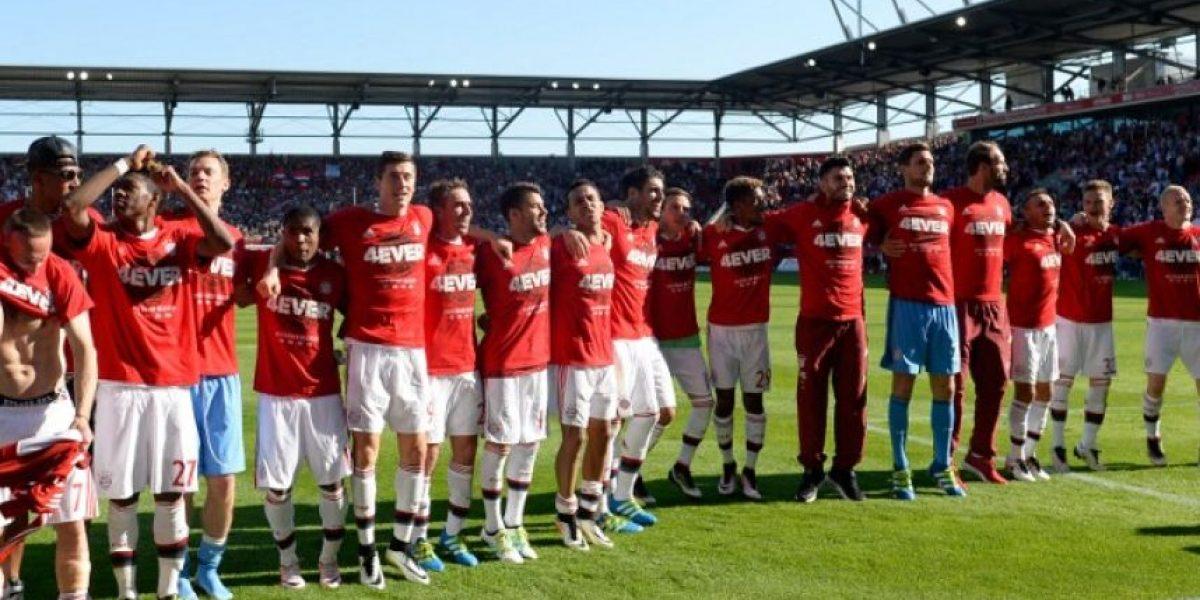 Bayern Múnich consigue el tetracampeonato en la Bundesliga