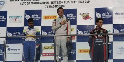 Ian Rodríguez consigue el primer lugar en la Fórmula 4 en Italia