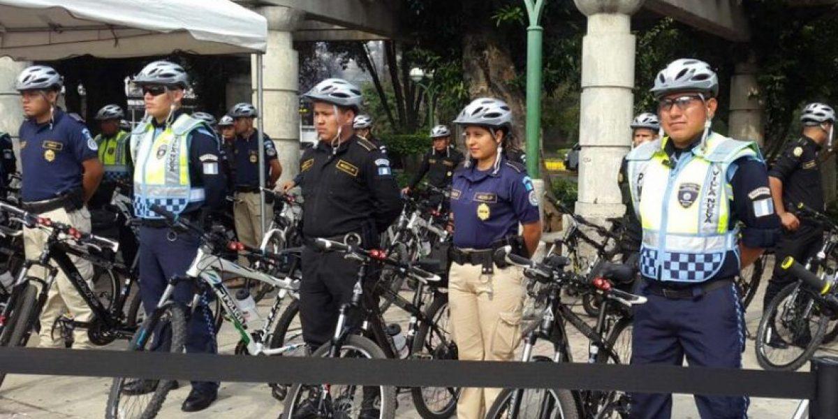 Oficializan los bicipatrujalles que realiza la PNC