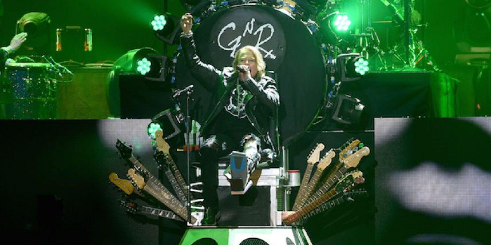 1.- Su nombre real es William Bruce Bailey, el nombre: Axl lo tomó de una de sus primeras bandas. Foto:Getty Images