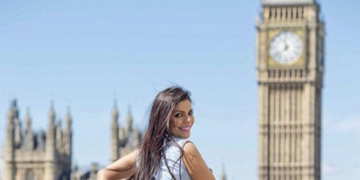Fotos de Susy Cortez, Miss BumBum 2015, en tanga, en Londres